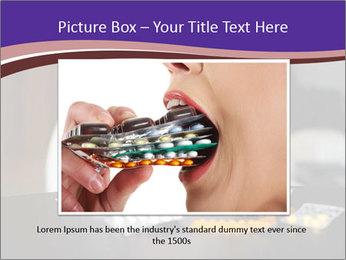 Sad preschooler PowerPoint Template - Slide 16