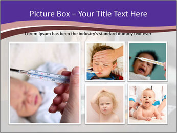 Sad preschooler PowerPoint Template - Slide 19