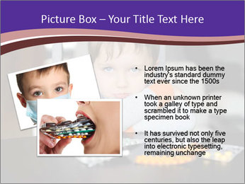 Sad preschooler PowerPoint Template - Slide 20