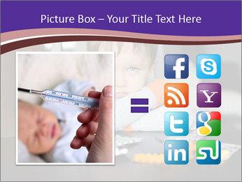 Sad preschooler PowerPoint Template - Slide 21