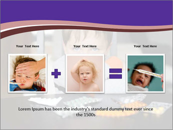 Sad preschooler PowerPoint Template - Slide 22
