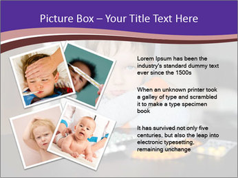 Sad preschooler PowerPoint Template - Slide 23