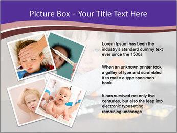 Sad preschooler PowerPoint Templates - Slide 23