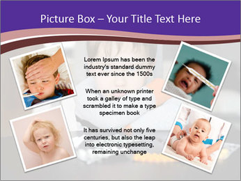 Sad preschooler PowerPoint Template - Slide 24
