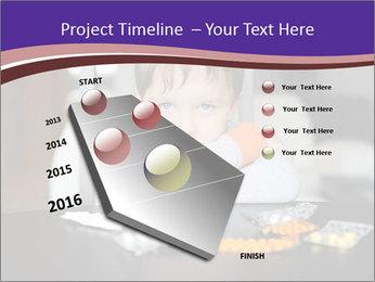 Sad preschooler PowerPoint Template - Slide 26