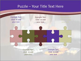 Sad preschooler PowerPoint Template - Slide 41