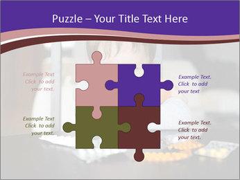Sad preschooler PowerPoint Template - Slide 43