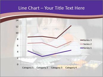 Sad preschooler PowerPoint Template - Slide 54