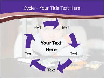 Sad preschooler PowerPoint Templates - Slide 62