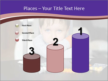 Sad preschooler PowerPoint Template - Slide 65