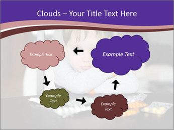 Sad preschooler PowerPoint Template - Slide 72