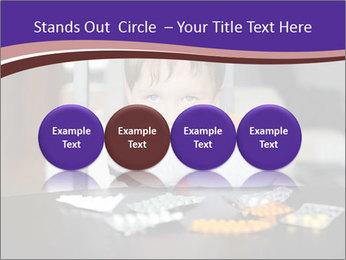 Sad preschooler PowerPoint Template - Slide 76
