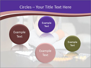 Sad preschooler PowerPoint Template - Slide 77