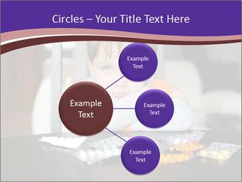 Sad preschooler PowerPoint Template - Slide 79