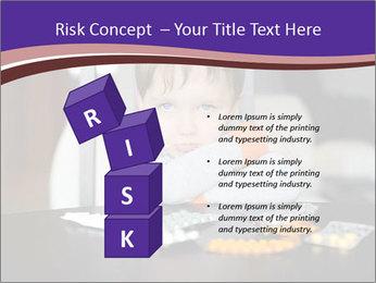 Sad preschooler PowerPoint Templates - Slide 81