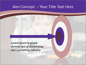 Sad preschooler PowerPoint Template - Slide 83