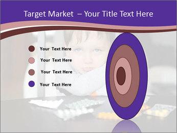 Sad preschooler PowerPoint Template - Slide 84