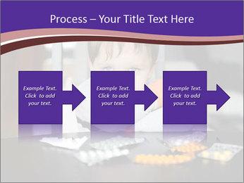 Sad preschooler PowerPoint Template - Slide 88