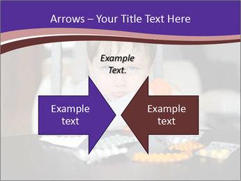Sad preschooler PowerPoint Template - Slide 90