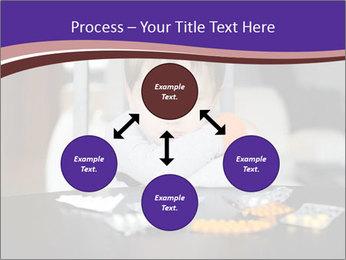 Sad preschooler PowerPoint Template - Slide 91