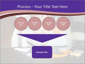 Sad preschooler PowerPoint Template - Slide 93