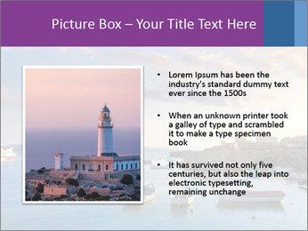 Tabarca island boats PowerPoint Template - Slide 13
