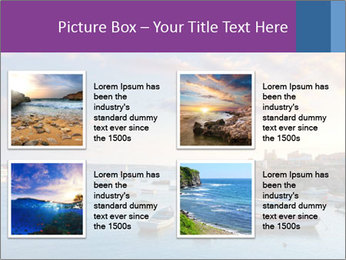 Tabarca island boats PowerPoint Template - Slide 14
