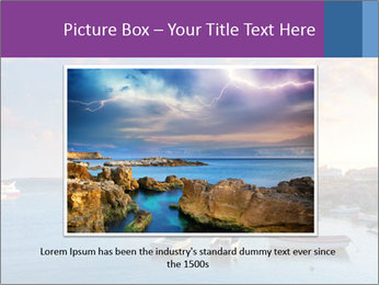 Tabarca island boats PowerPoint Template - Slide 15