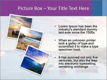 Tabarca island boats PowerPoint Template - Slide 17