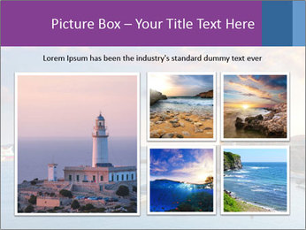 Tabarca island boats PowerPoint Template - Slide 19