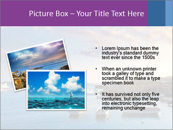 Tabarca island boats PowerPoint Template - Slide 20