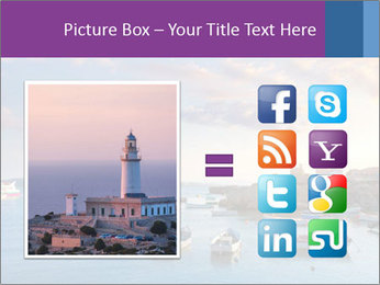 Tabarca island boats PowerPoint Template - Slide 21