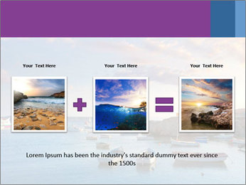 Tabarca island boats PowerPoint Template - Slide 22