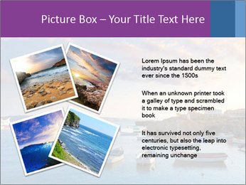 Tabarca island boats PowerPoint Template - Slide 23