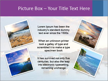 Tabarca island boats PowerPoint Template - Slide 24