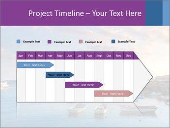 Tabarca island boats PowerPoint Template - Slide 25