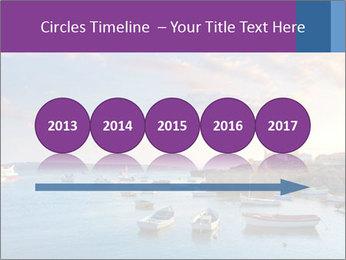 Tabarca island boats PowerPoint Template - Slide 29
