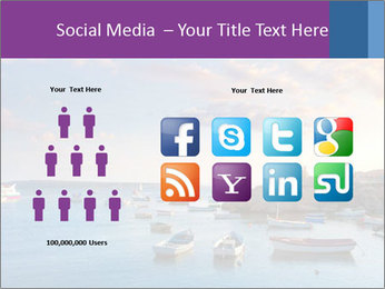 Tabarca island boats PowerPoint Template - Slide 5