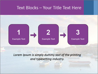 Tabarca island boats PowerPoint Template - Slide 71