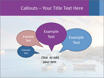 Tabarca island boats PowerPoint Template - Slide 73