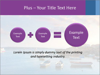 Tabarca island boats PowerPoint Template - Slide 75