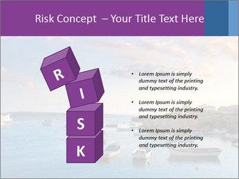 Tabarca island boats PowerPoint Template - Slide 81