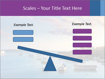 Tabarca island boats PowerPoint Template - Slide 89