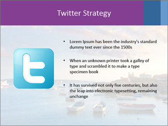 Tabarca island boats PowerPoint Template - Slide 9