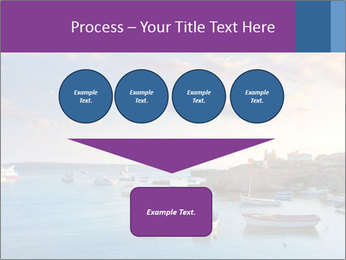 Tabarca island boats PowerPoint Template - Slide 93