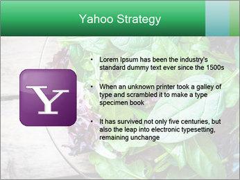 Fresh green salad PowerPoint Templates - Slide 11