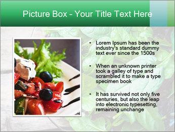 Fresh green salad PowerPoint Templates - Slide 13