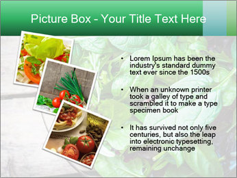 Fresh green salad PowerPoint Templates - Slide 17