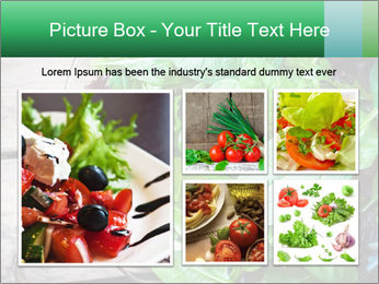 Fresh green salad PowerPoint Templates - Slide 19