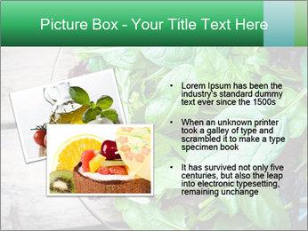 Fresh green salad PowerPoint Templates - Slide 20